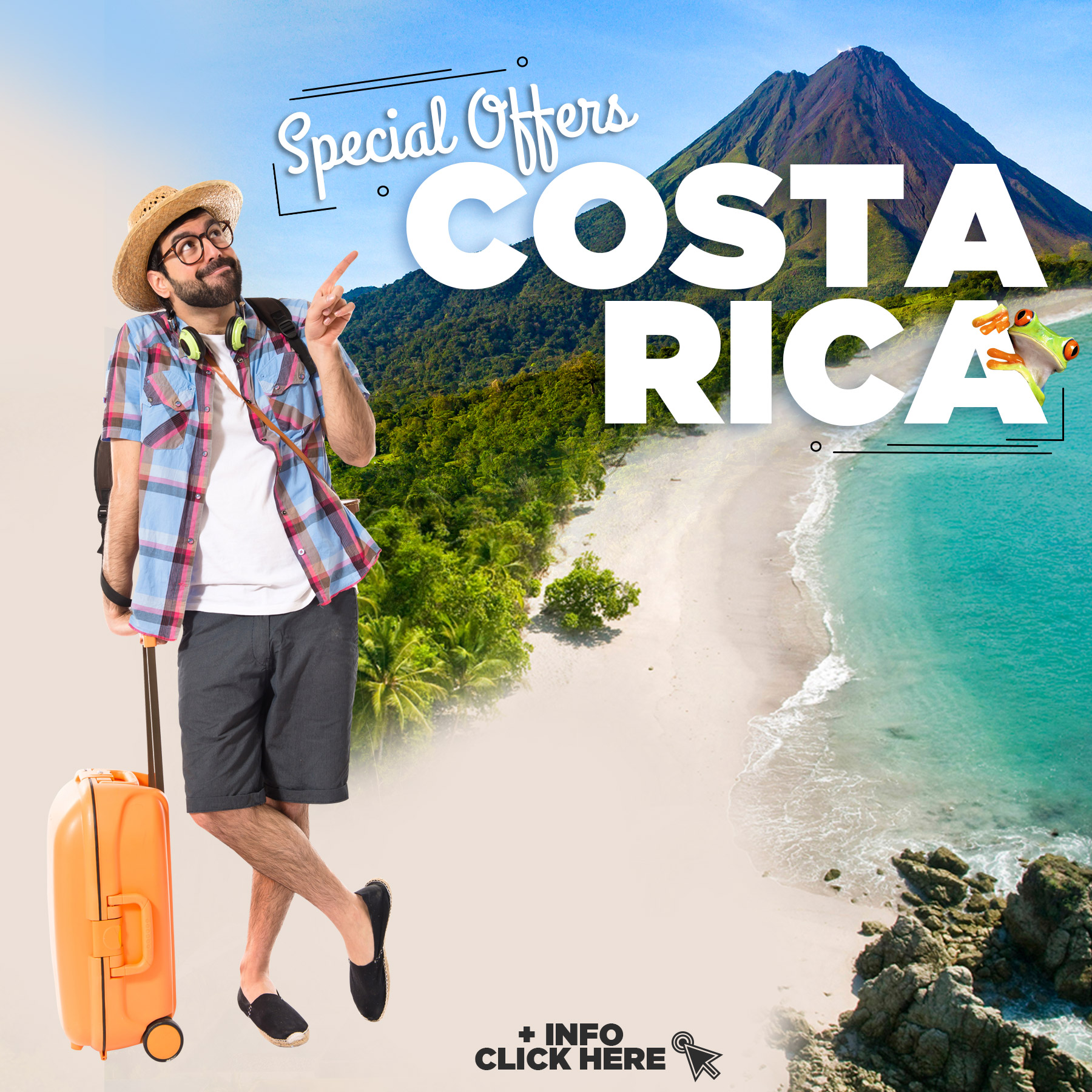 Special offers Vacations Costa Rica